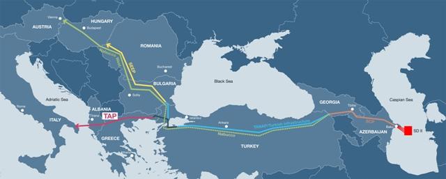 Avropa Komissiyası Yunanıstanla TAP arasındakı sazişi təsdiqlədi