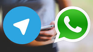 WhatsApp və Telegram