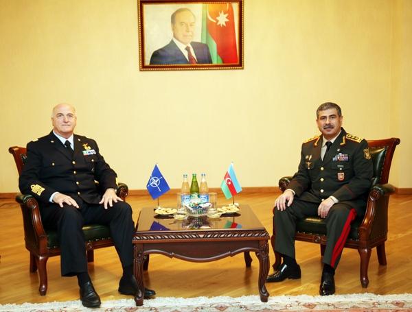 NATO-Azərbaycan əlaqələri yüksək qiymətləndirilib