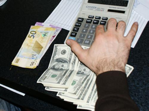 dollar manat hesab