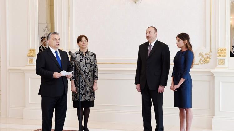 Mehriban Əliyeva Macarıstanın ali ordeni ilə təltif edilib