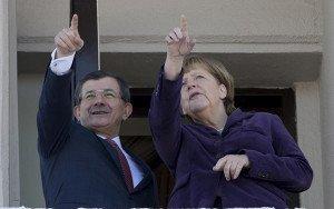 Angela Merkel: Türkiyə Avropanı böyük yanlışlıqdan xilas etdi