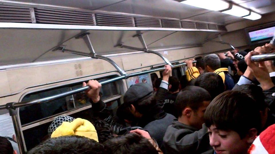 Bakı metrosunda qorxulu olay: Təhlükəli şəxs ələ keçirildi