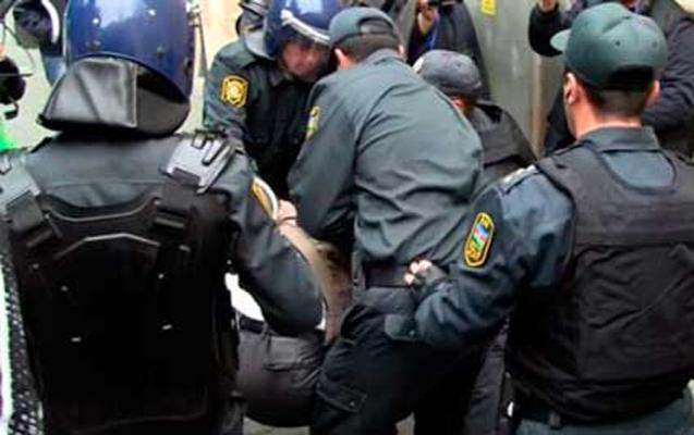 Çevik Polis Alayı 2 oğru tutub