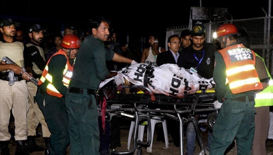 Pakistanda uşaq parkında partlayış zamanı ölənlərin sayı 65 nəfərə çatıb