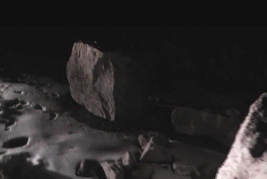 Quba-Xınalıq-İspik avtomobil yoluna qaya parçası düşüb - FOTO