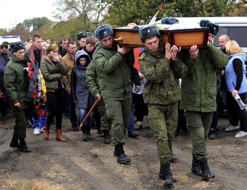 Suriyada Rusiyadan olan 2 mindən çox yaraqlı öldürülüb
