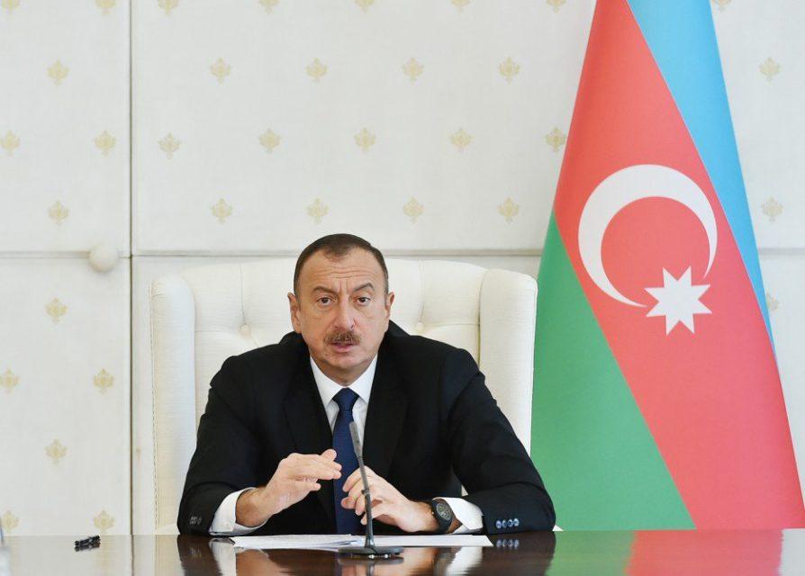 Prezident İlham Əliyev Belarus Milli Məclisinin sədrini qəbul etdi