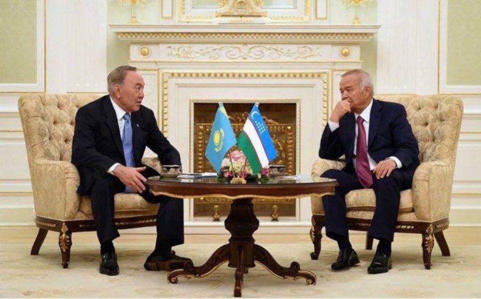 Nazarbayev Özbəkistana gedib