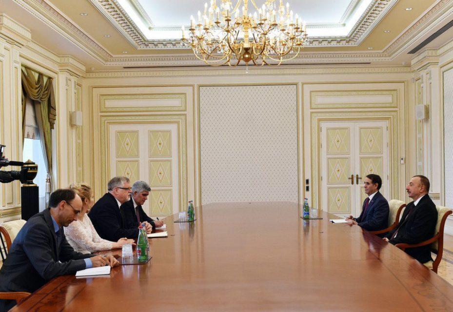 İlham Əliyev Avropa İttifaqının Cənubi Qafqaz üzrə xüsusi nümayəndəsi ilə görüşdü