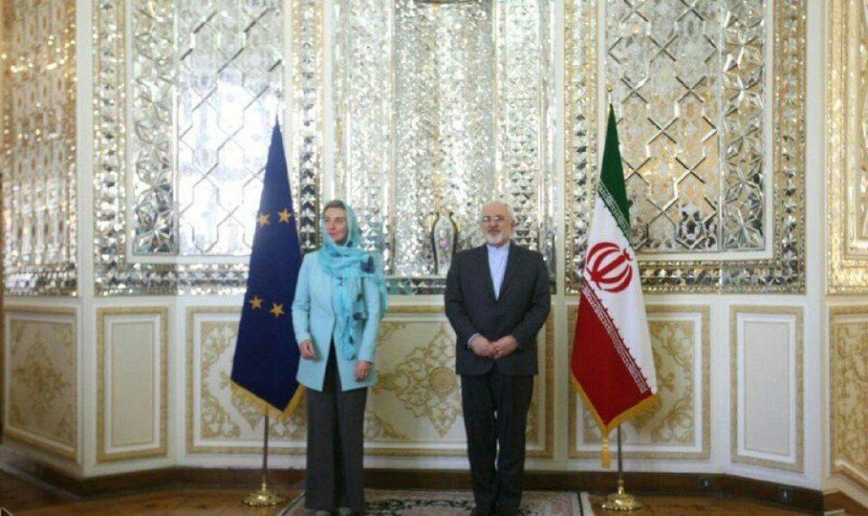 Federika Moqerini İranda səfərdədir