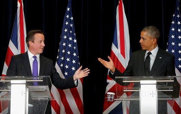 Obama Britaniyadadır - Baş nazir Kameronla görüşdü