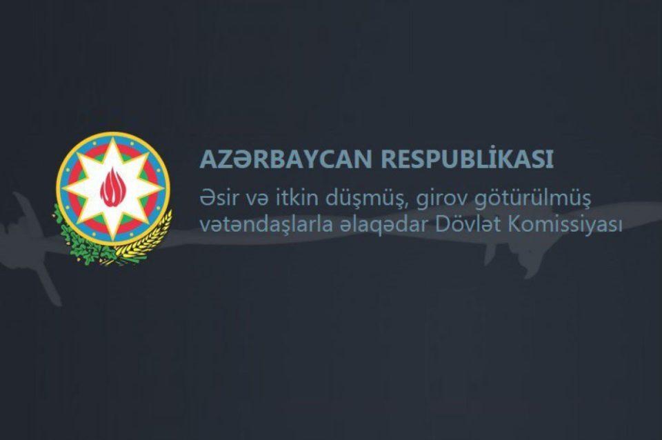 """Dövlət Komissiyası: """"Hər iki tərəfin nəzarətində qalmış hərbçilərin meyitləri qaytarılıb"""""""