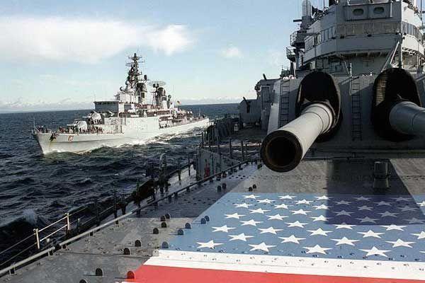 Rusiyadan ABŞ-a göz dağı: NATO gəmilərini vurmaq üzərində məşq