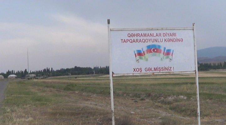 Ermənilərin atdığı mərmilər Tapqaraqoyunlu kəndində doqquz evi dağıdıb