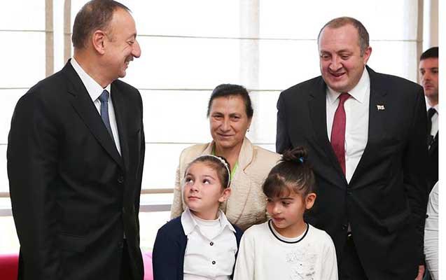 Gürcüstan prezidenti azərbaycanlıların yaşadığı kəndə gəlib