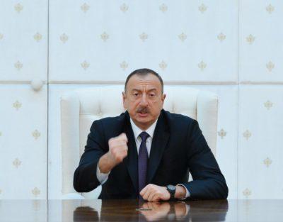 """""""Torpaqlarımızı işğaldan azad edəcəyik"""" – Prezidentdən Qarabağ bəyanatı"""