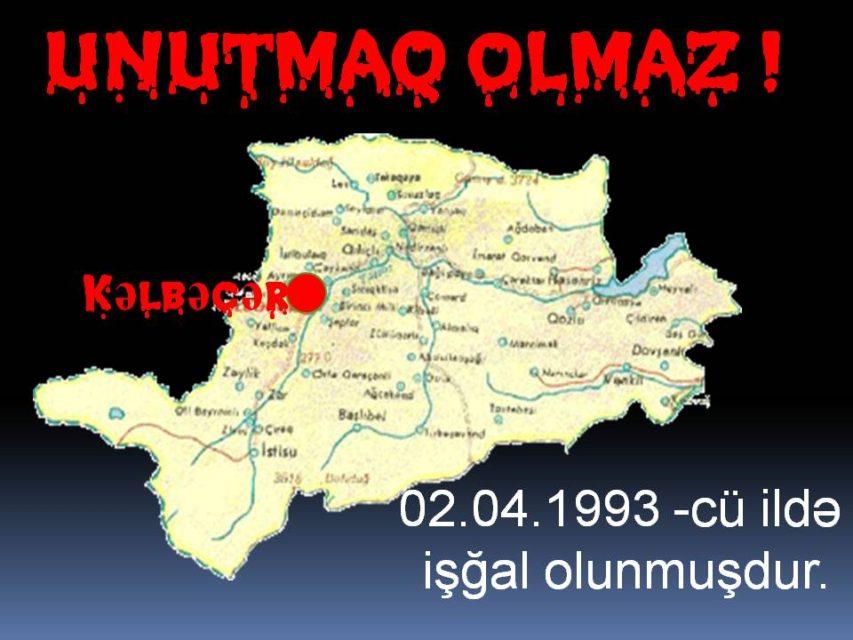 Kəlbəcərin işğalından 23 il keçir