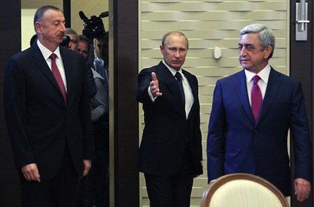 """Putinin iştirakı ilə Qarabağ danışıqları başlanır: Moskva """"güzəştlər paketi"""" hazırlayıb"""