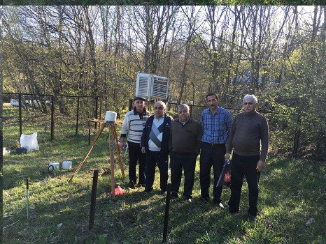 Pirqulu meteoroloji stansiyanın fəaliyyəti yenidən bərpa edildi – FOTO