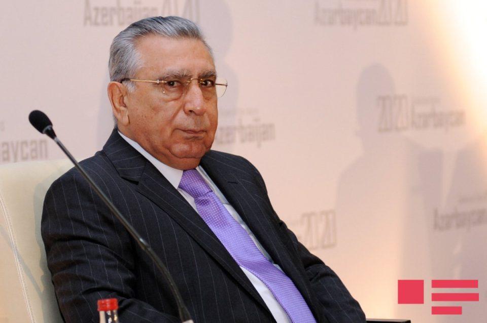 """PA rəhbəri Ramiz Mehdiyev:""""Ermənistanın hərbi təxribatlarının bir neçə səbəbi var"""""""