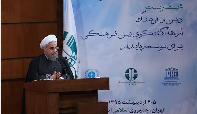"""Həsən Ruhani: """"İran olmasaydı, dünya terror təşkilatıyla yox, terror dövlətiylə mübarizə aparacaqdı"""""""