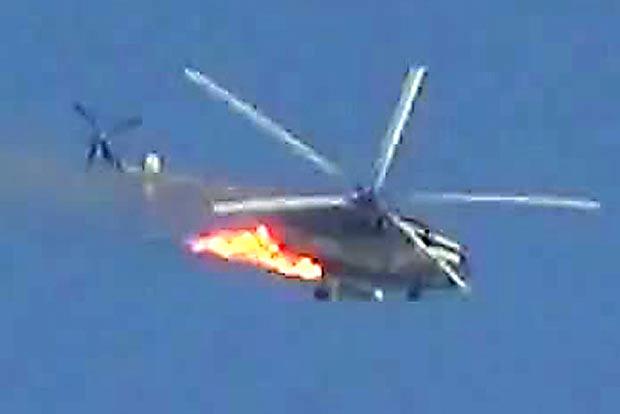 MN: Azərbaycana məxsus helikopterin vurulması barədə məlumatlar yalandır