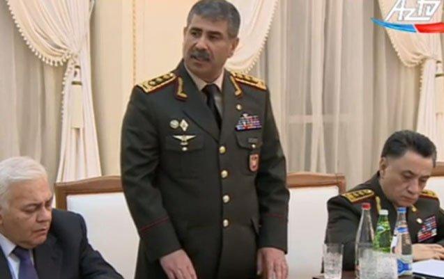 Zakir Həsənov cəbhədəki durumla bağlı Ali Baş Komandana belə hesabat verdi –VİDEO