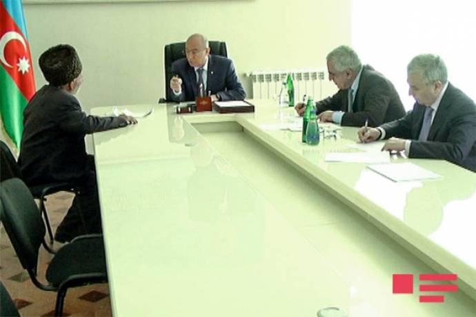 Kəmaləddin Heydərovun qəbul qrafiki açıqlandı – Nazir Saatlıya gedir
