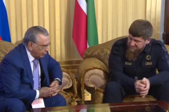 Akademik Ramiz Mehdiyevlə çeçen lideri nələrdən danışıblar? – Kadırovdan açıqlama (VİDEO)