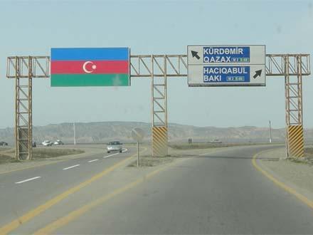 Kürdəmir yolunda sürət həddi 90 km/saata qədər artırıldı