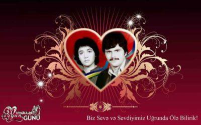 Bu gün Azərbaycanda Sevgililər Günü qeyd olunur!