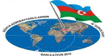 Dünya azərbaycanlılarının 4-cü qurultayı başlayıb