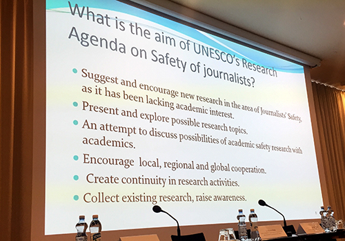 UNESCO's Research Conference on the Safety of Journalists paved the way for academic research cooperation - Knowledge is the Key