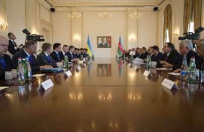 Azərbaycan-Ukrayna sazişləri imzalanıb