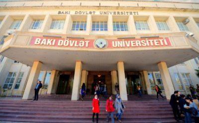 Mənfi xəbərlər üzrə lider - Bakı Dövlət Universiteti