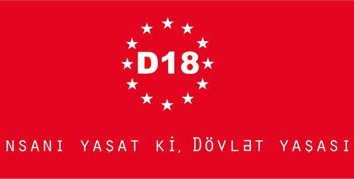 D18 hərəkatı Milli Mətbuat Gününə film hazırladı