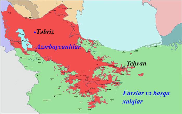 İranda neçə milyon Türk yaşayır?