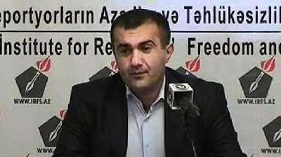 Həbsdəki jurnalist ağzını tikdi