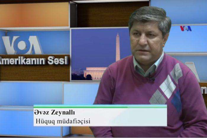 Əvəz Zeynallı: Siyasi məhbusları həbsə göndərənlərin də siyahısı hazırlanacaq - VIDEO