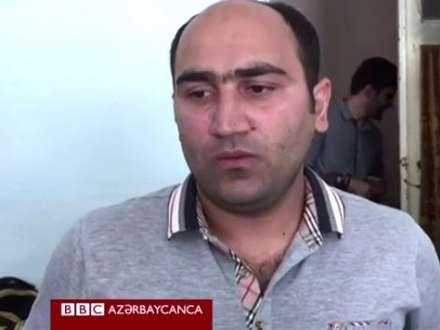 Fərəc Kərimli azadlıqda - evindən reportaj