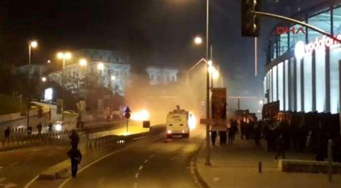 İstanbulda 2 güclü partlayış baş verib-VİDEO