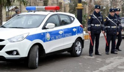 Yol polisindən 20 Yanvar günü döyuşçüyə hörmətsizlik