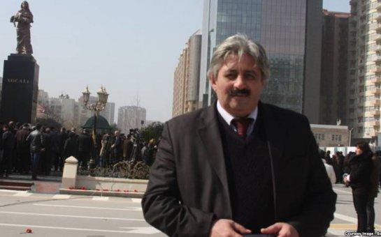 Həbsdəki jurnalistin anası əfv istədi