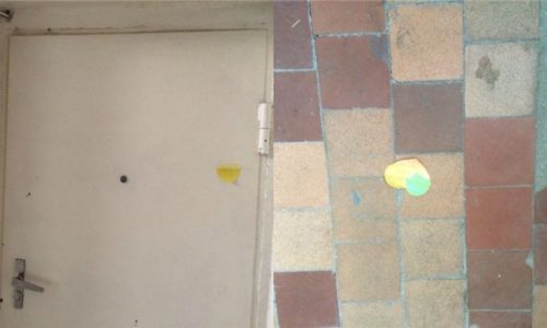 Gənc yazıçının yaşadığı evin qapısındakı 2 ürək... - FOTOLAR