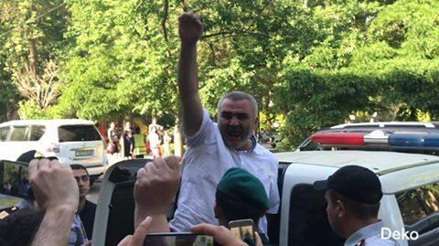 Əfqan Muxtarlı barəsində 3 ay həbs qərarı verildi FOTO VİDEO