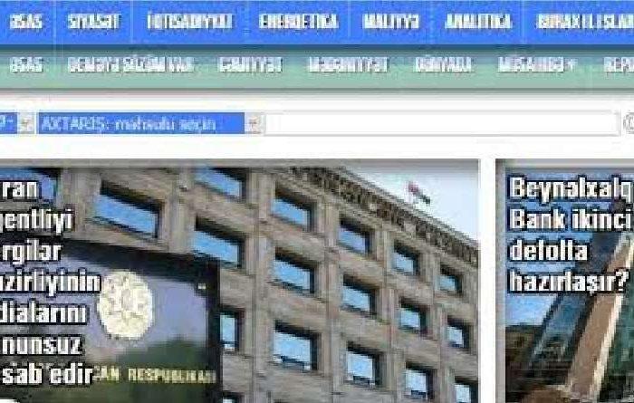 """""""Turan"""" İnformasiya Agentliyinin bəyanatı-10 əməkdaş istintaqda"""
