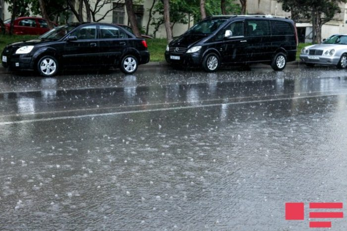 Sabaha olan hava proqnozu - hava kəskin dəyişəcək, Bakıya yağış, rayonlara leysan yağacaq