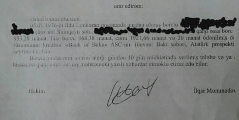 "Fırıldaqçı ""Bank of Baku"""
