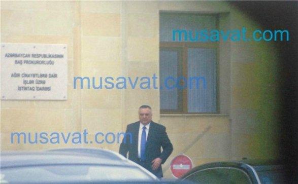 Eldar Mahmudovun vəzifədən azad olunduqdan sonra ilk fotosu